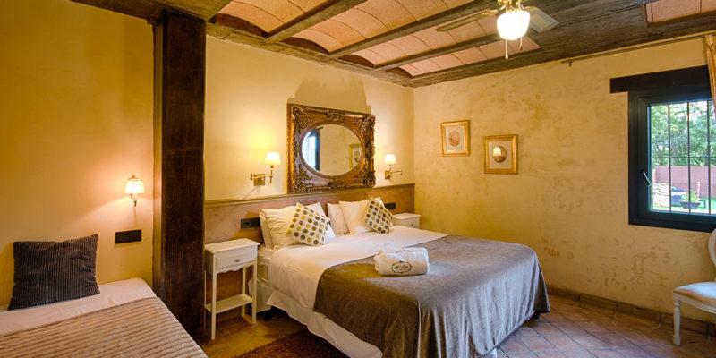 Habitación Amarila Mas Prat